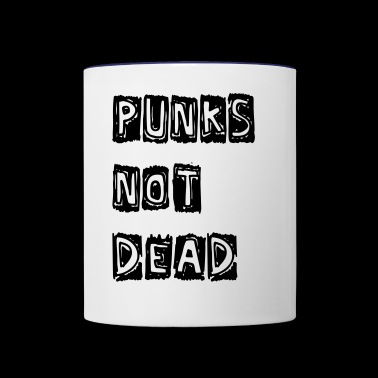 Punks not dead - Contrast Coffee Mug