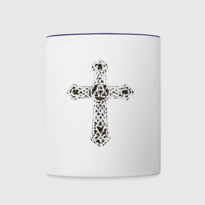 cross14 - Contrast Coffee Mug