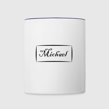 michael - Contrast Coffee Mug