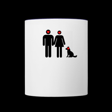 Relationship and Pets - Contrast Coffee Mug