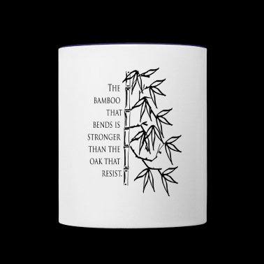 The Bamboo that bends - Contrast Coffee Mug