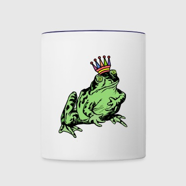 King Frog - Contrast Coffee Mug