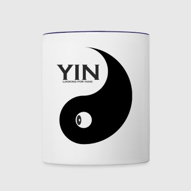 YIN looking for YANG, where is my partner - Contrast Coffee Mug