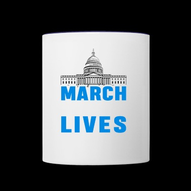 March For Our Lives 2018 - Contrast Coffee Mug