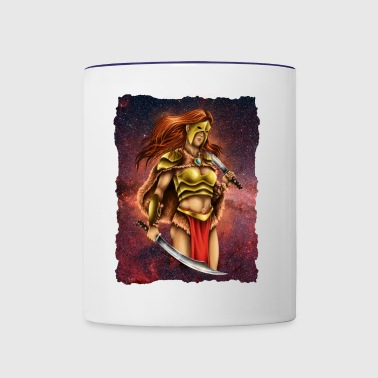WARRIOR QUEEN - Contrast Coffee Mug