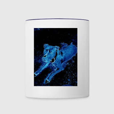 Celestial Dog - Contrast Coffee Mug