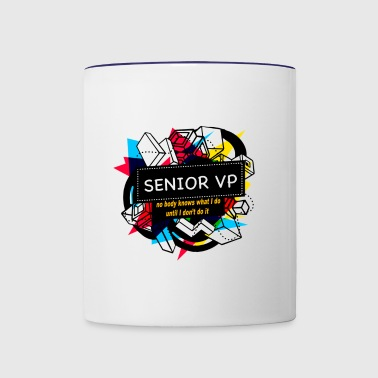 SENIOR VP - Contrast Coffee Mug