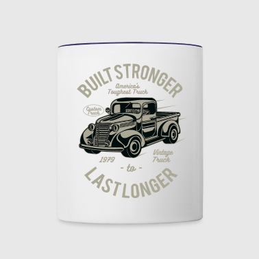 Built Stronger - Contrast Coffee Mug