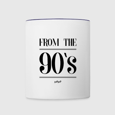 From the 90s - Contrast Coffee Mug