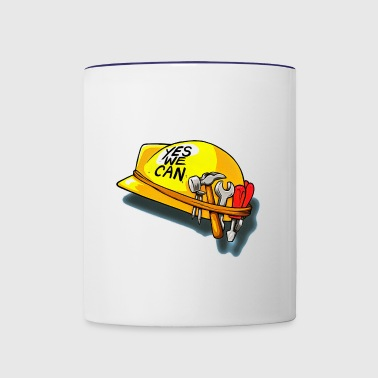 yes we can - Contrast Coffee Mug
