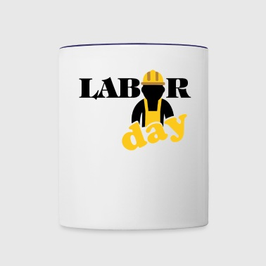 labor day shirt, Happy labor day shirt - Contrast Coffee Mug