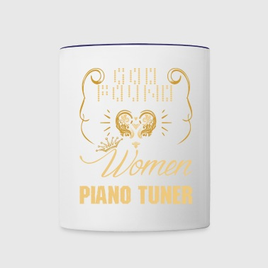 Strongest Women Made Piano Tuner - Contrast Coffee Mug