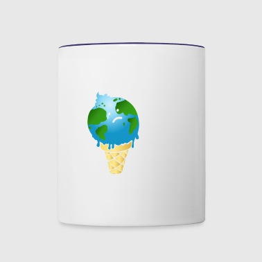 Climate Change is Real. - Contrast Coffee Mug