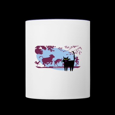 Cat Refuses the Invitation - Contrast Coffee Mug