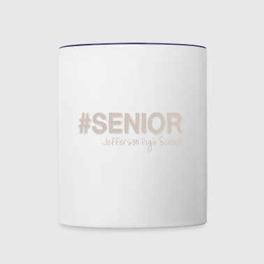 SENIOR Jefferson High School - Contrast Coffee Mug