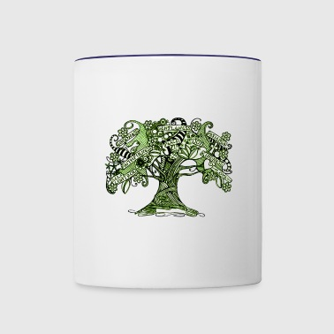 Wisdom Tree - Contrast Coffee Mug
