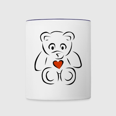 Sweethear - Contrast Coffee Mug
