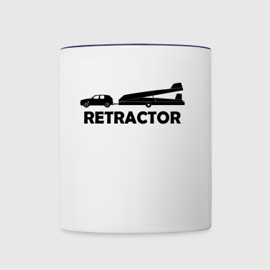retractor glider pilot - Contrast Coffee Mug