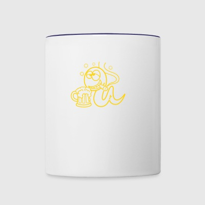 100,000 Sperm And You Were The Fastest ?! - Contrast Coffee Mug