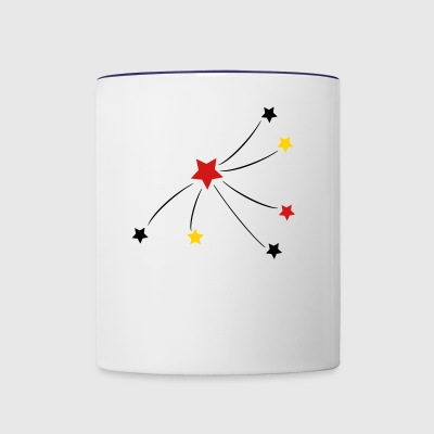 star - Contrast Coffee Mug