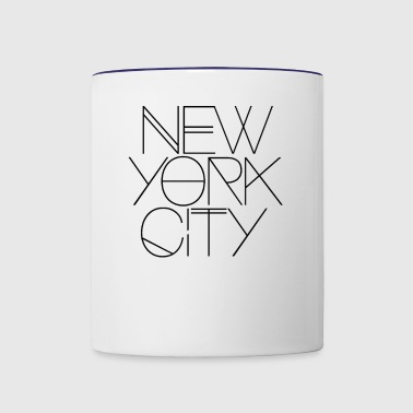 NYC - Contrast Coffee Mug