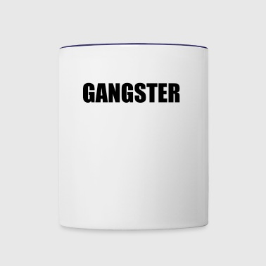 GANGSTER - Contrast Coffee Mug