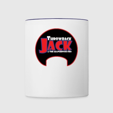 Throwback Jack & the Allpurpose Fro - Contrast Coffee Mug