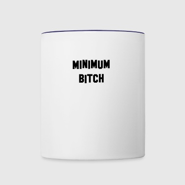 Minimum Black - Contrast Coffee Mug