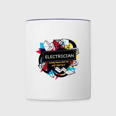ELECTRICIAN - Contrast Coffee Mug