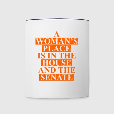 house senate - Contrast Coffee Mug