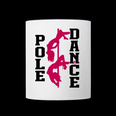Pole Dance - Contrast Coffee Mug