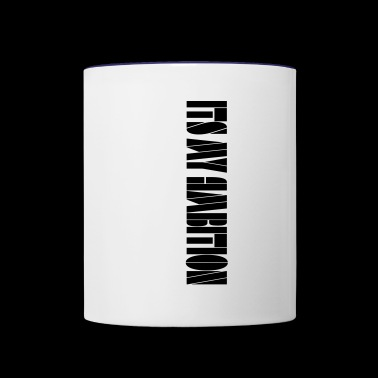 Ambition tee - Contrast Coffee Mug