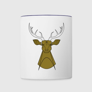 Wild deer - Contrast Coffee Mug