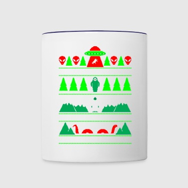 Paranormal Christmas - Contrast Coffee Mug