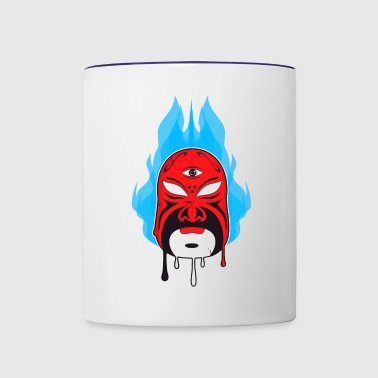 Chinese Opera Mask I - Contrast Coffee Mug