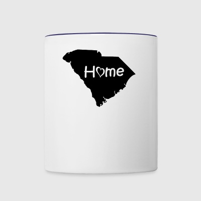 South Carolina - Contrast Coffee Mug
