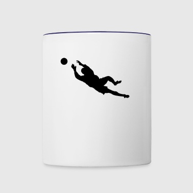 Goalkeeper - Contrast Coffee Mug