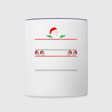 Be Nice To Primary Teacher Santa Is Watching - Contrast Coffee Mug