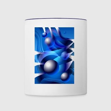 WATERMOON Abstract Art #06 - Contrast Coffee Mug