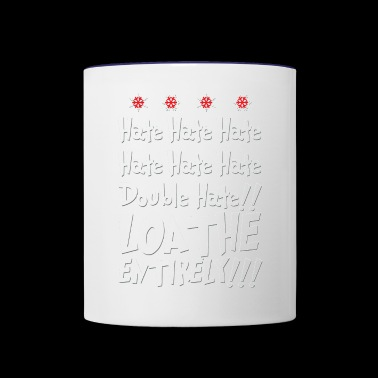 The Grinch HATES YOU - Contrast Coffee Mug
