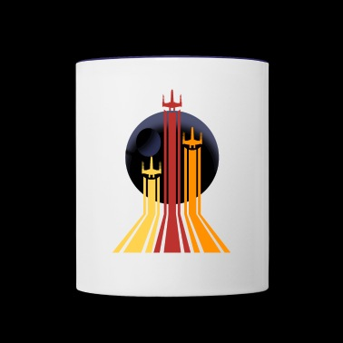 Spaceships - Contrast Coffee Mug