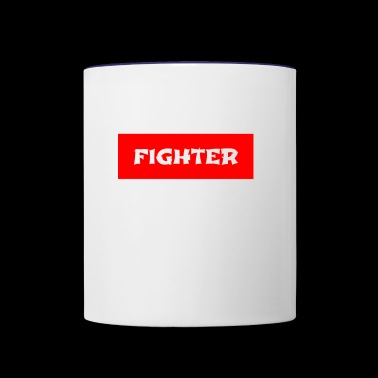 THE FIGHTER - Contrast Coffee Mug