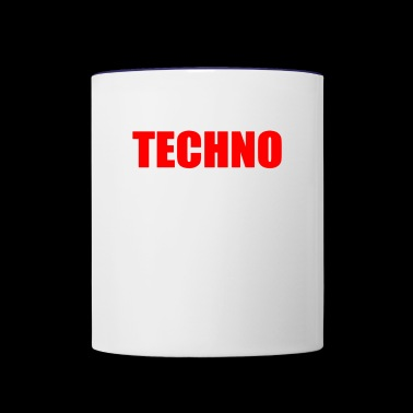 TECHNO - Contrast Coffee Mug