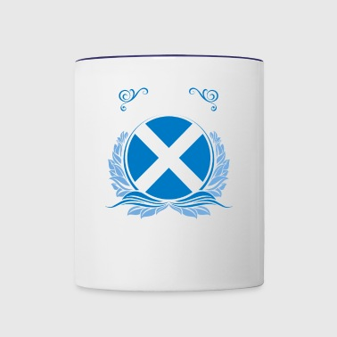 This Is Scotland - Contrast Coffee Mug