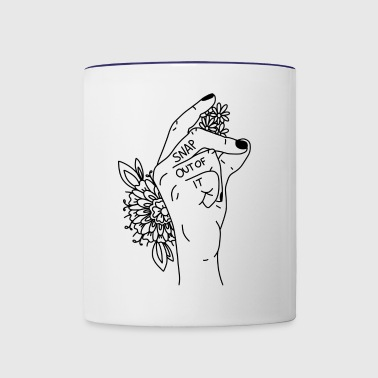 Snap out of it - Contrast Coffee Mug