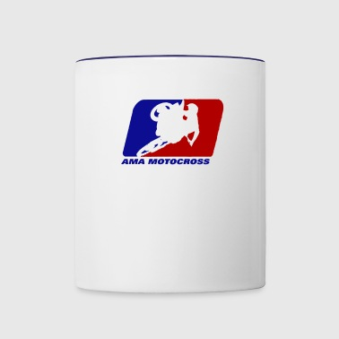 AMA motocross superbikes - Contrast Coffee Mug