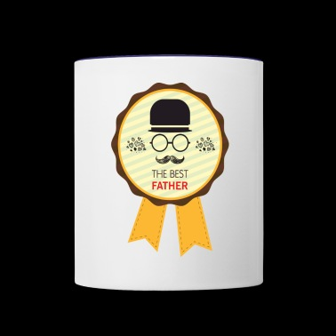 The Best Father - Contrast Coffee Mug
