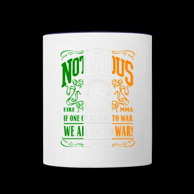 Cool quotes two conor - Contrast Coffee Mug