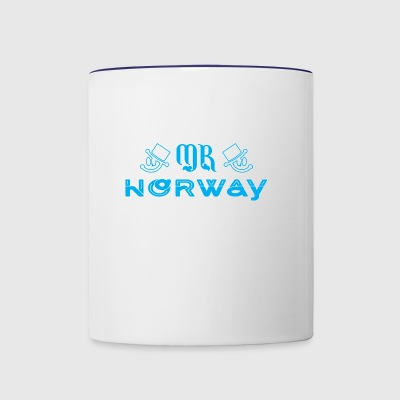 Mr Norway - Contrast Coffee Mug