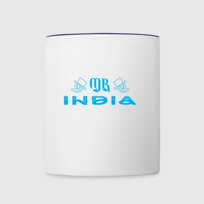 Mr India - Contrast Coffee Mug
